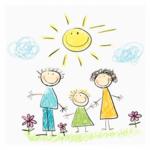 """Бабенко Семён (рук. Храменок Марина Анатольевна) - """"Счастливая семья"""""""