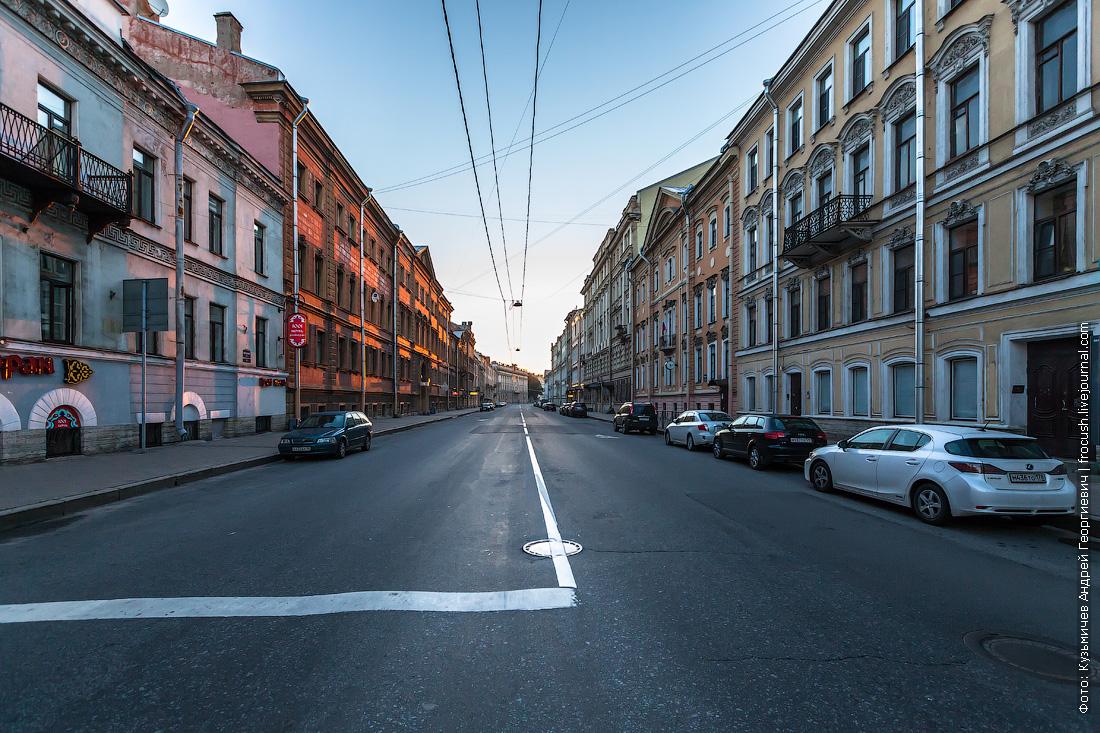Санкт-Петербург Миллионная улица