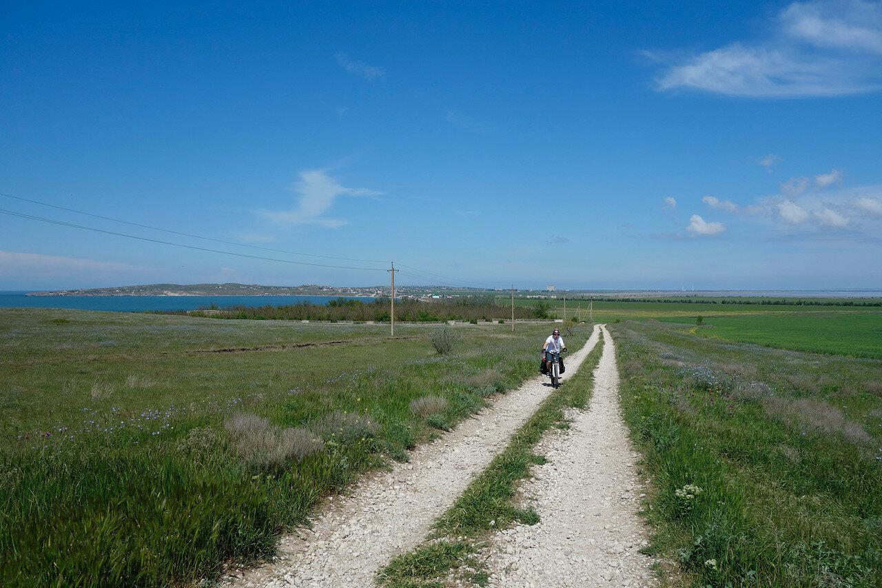 вдоль азовского берега