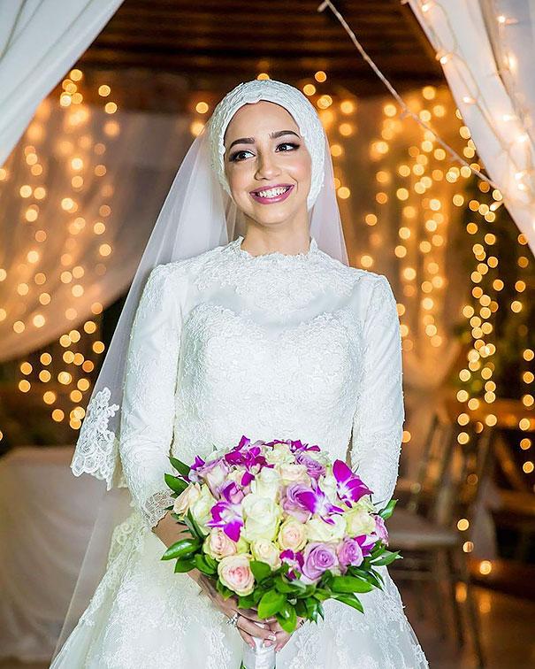 Когда девушка решила надеть на свадьбу хиджаб