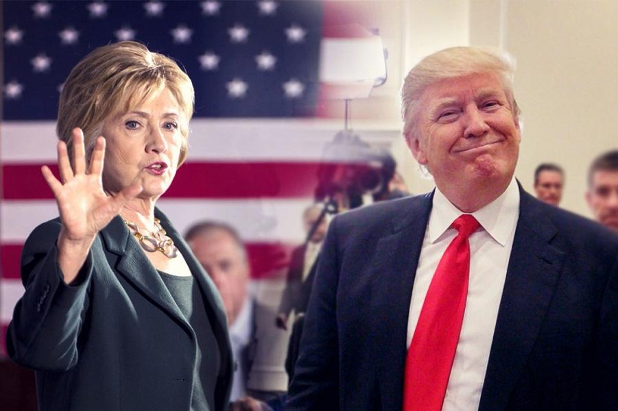 Хиллари Клинтон и Дональд Трамп.png