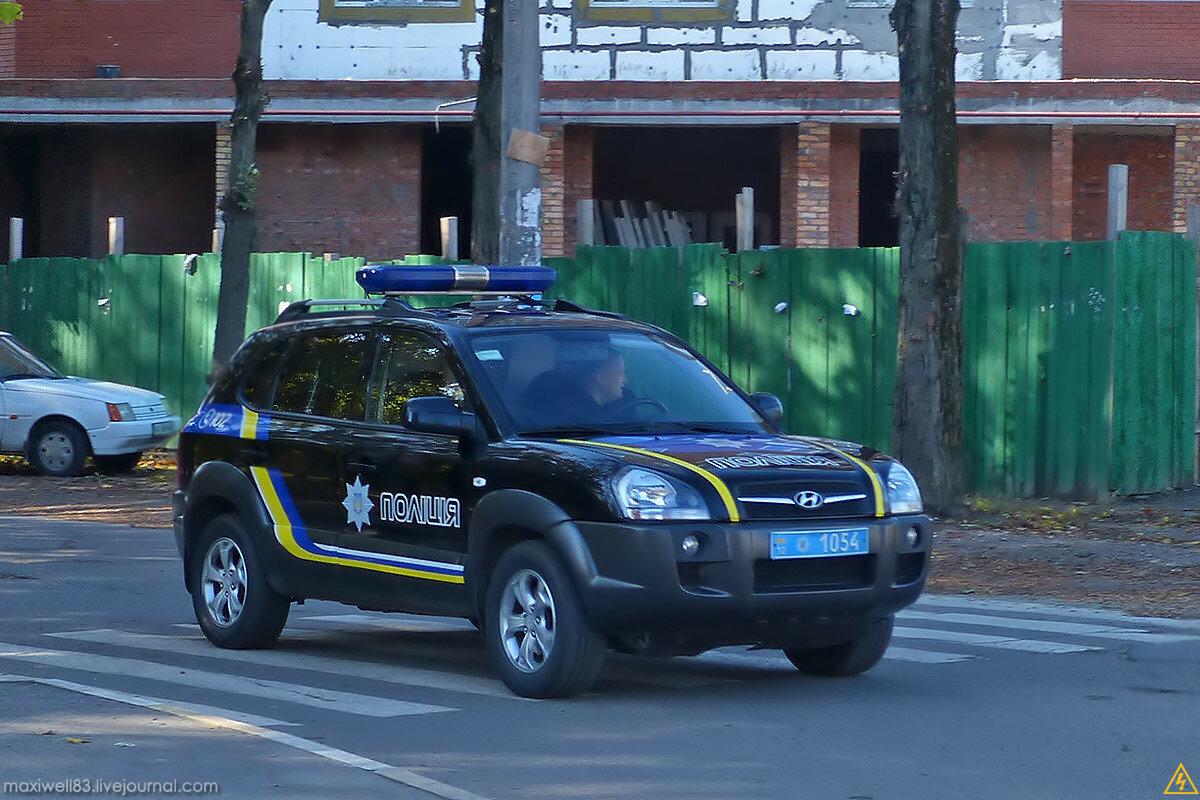 Hyundai Tucson Поліція