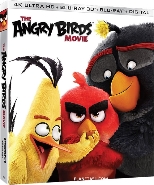 Angry Birds в кино / The Angry Birds Movie / 2016 / ДБ, СТ / 3D (HOU) / BDRip (1080p)