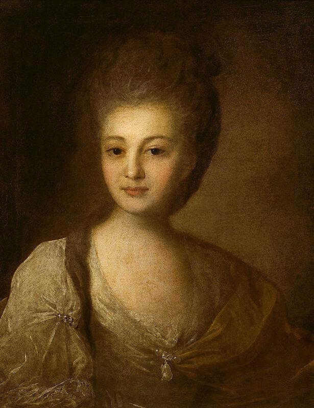 Ф.С. Рокотов, Портрет Струйской, 1772 г. Александра Петровна Струйская