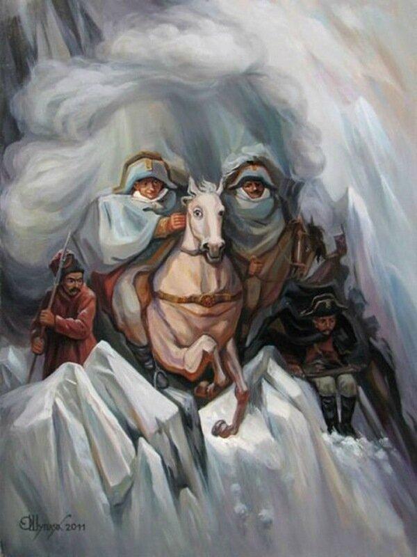 Художник Олег Шупляк: 20 потрясающих оптических иллюзий