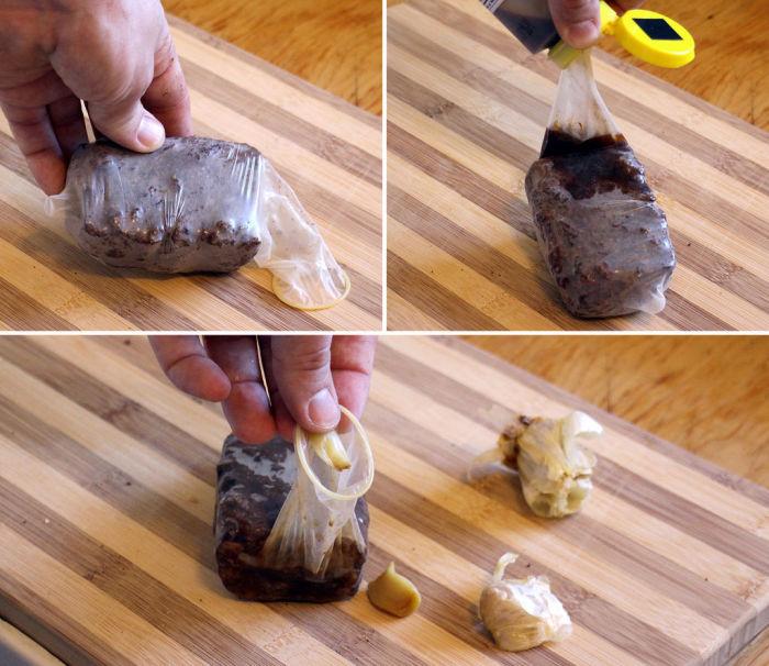 5. Завтрак в презервативе.