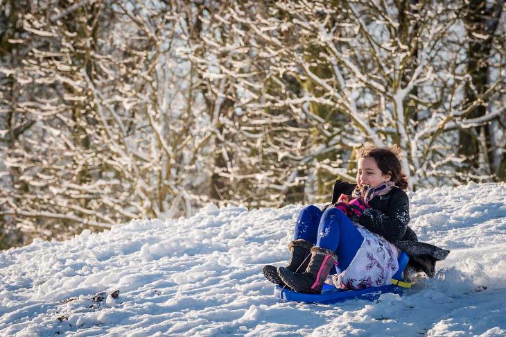 Календарная зима состоит из трёх месяцев: в Северном полушарии это — декабрь, январь и февраль, в Юж