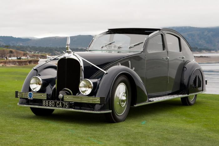Voisin C-25 Aerodyne. Автомобиль Voisin C-25 Aerodyne создали в 1934 году. В первую очередь он извес