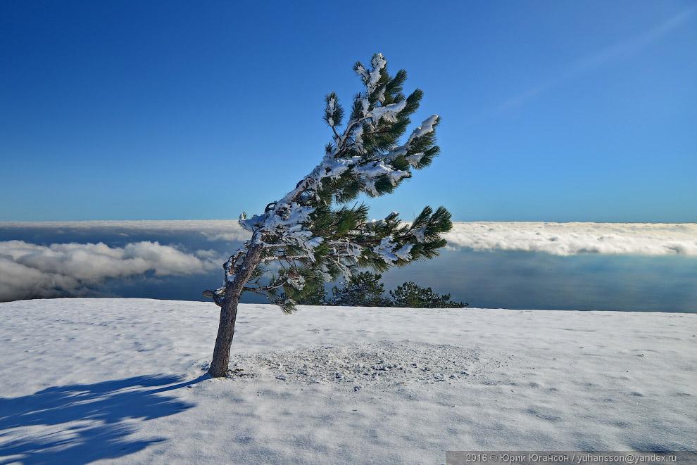3. Слева от Короны — облака, не снег. Мы туда ещё пойдём!