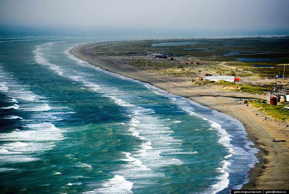10. Дорога по песчаному берегу давалась довольно легко, т.к. ветер дул в спину. А вот путь обра