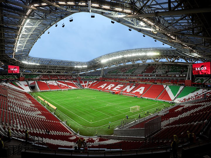 Нагазонное покрытие «Казань-Арены» истратят еще 50 млн руб.