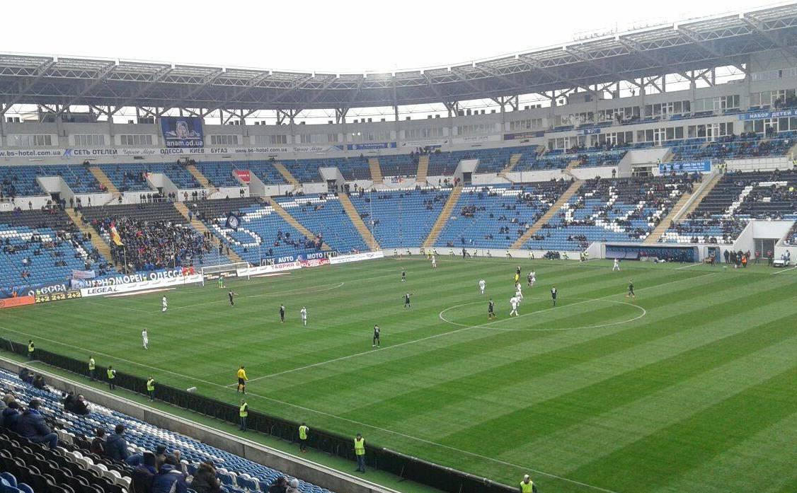 Динамо установило антирекорд посещаемости занесколько последних лет