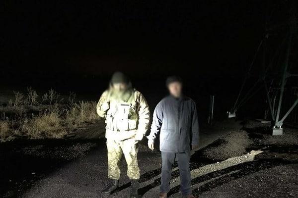 НаХарьковской границе задержали мужчину, который участвовал взахвате ХОГА