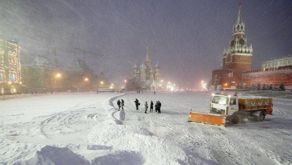 7 и8ноября в российской столице пройдет мощнейший снегопад