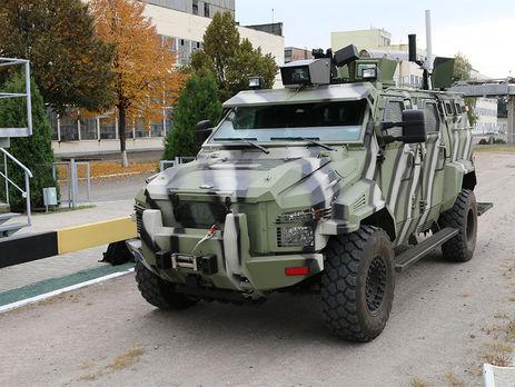 Вгосударстве Украина создали беспилотный броневик