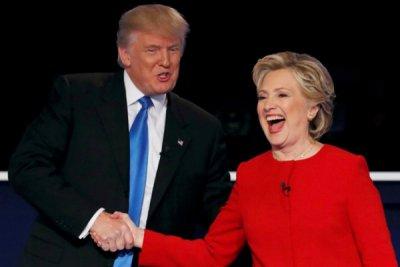 Клинтон иТрамп оказались самыми непопулярными претендентами впрезиденты США