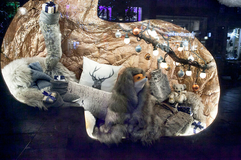 Shoppers are encouraged to London's West End to do their shopping, by the Christmas lights and department store's decorations along Oxford Street.November 16, 2016 in London UK