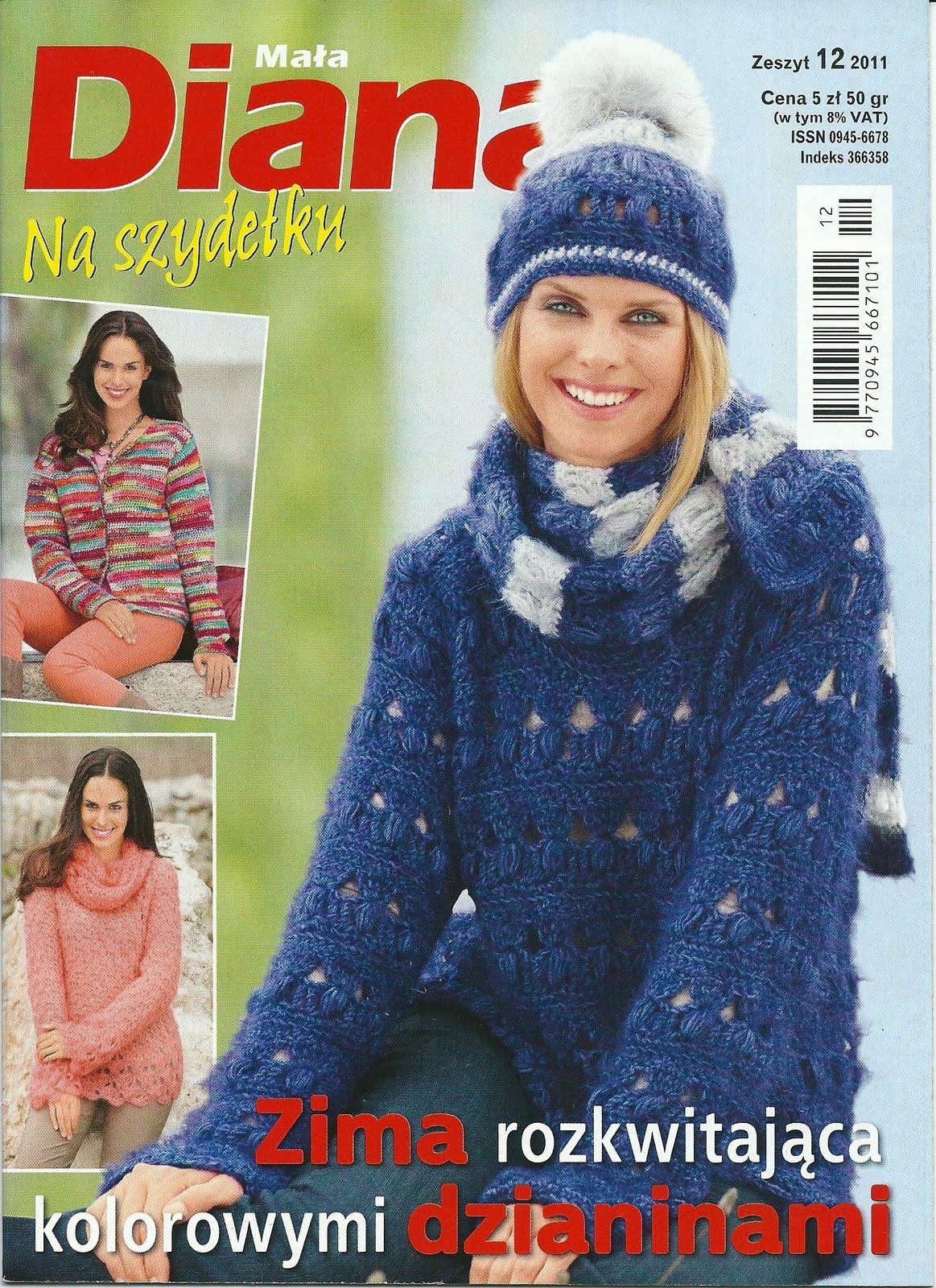 Журнал диана 12 2012 по вязанию