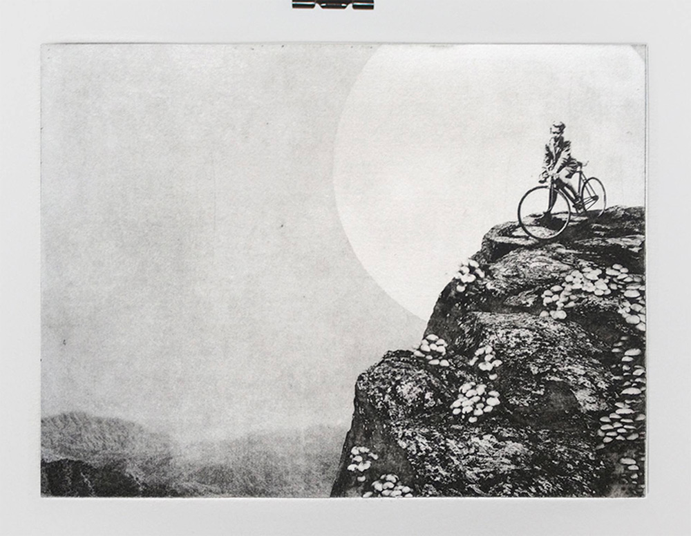 Dually Sinister and Playful Solarplate Etchings by Jaco Putker