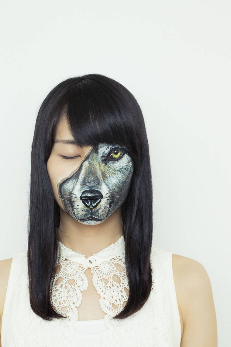 Intimate Illusions - The latest body painting creations of Hikaru Cho