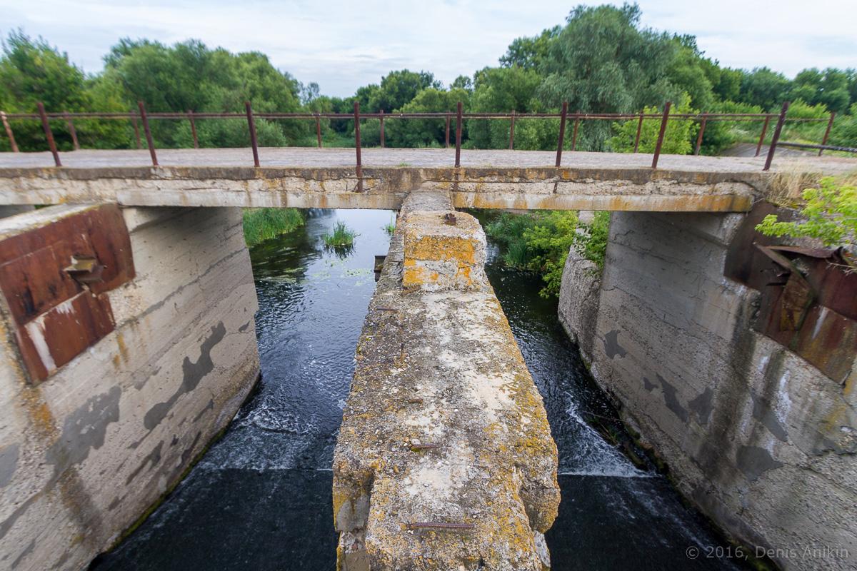 Калининск река Баланда плотина фото 7