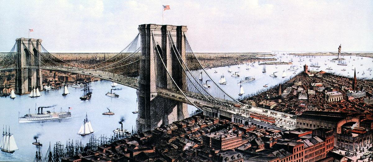 Роберт Бош (Robert Bosch) Бруклинский мост в США