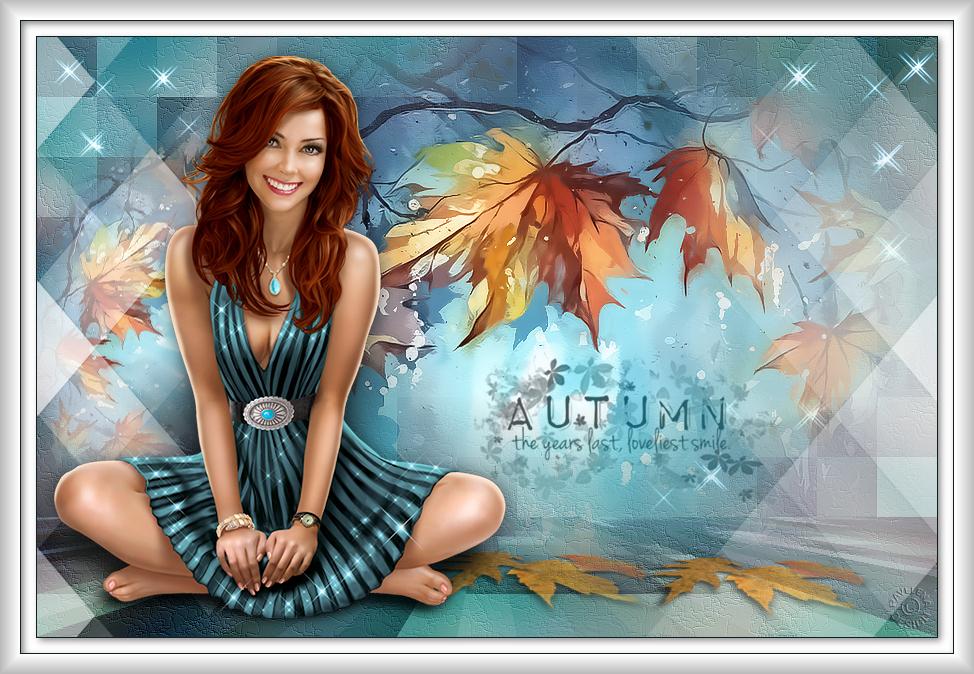 Loveliest smile of autumn