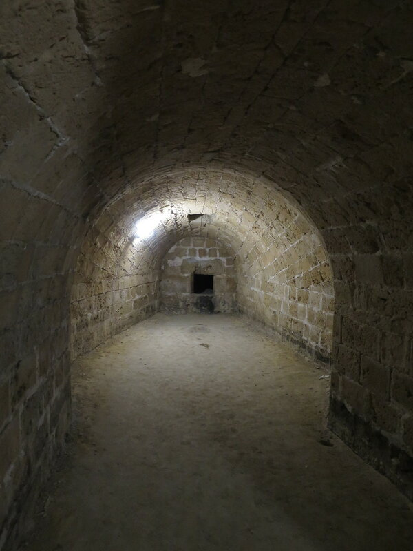 Бойница среднего уровня юго-западного бастиона
