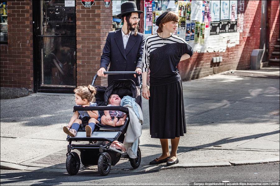 Одежда ортодоксальных евреев