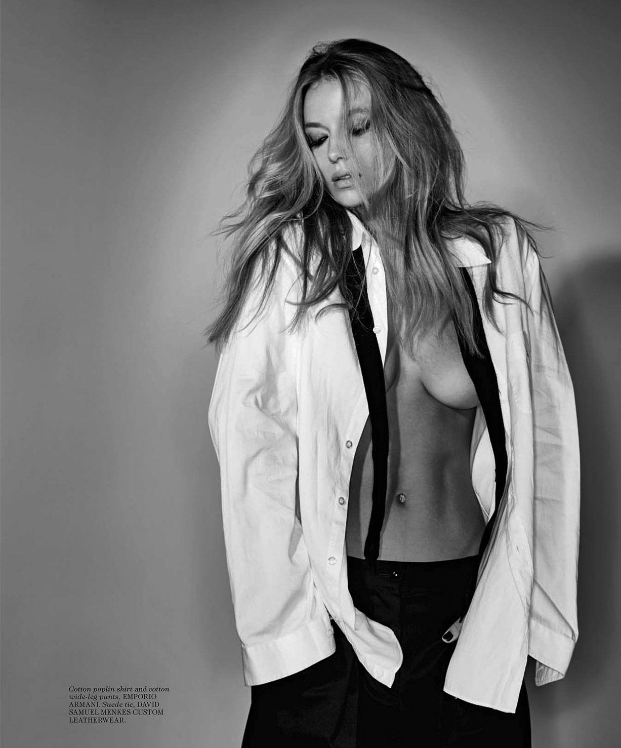 сексапильная Ханна Фергюсон / Hannah Ferguson by Gilles Bensimon - Maxim november 2016