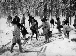 1929. Троицкий округ. Подготовка к геодезической съемке