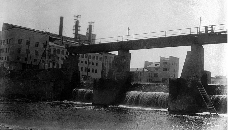 Плотина главного корпуса ЧГРЭС