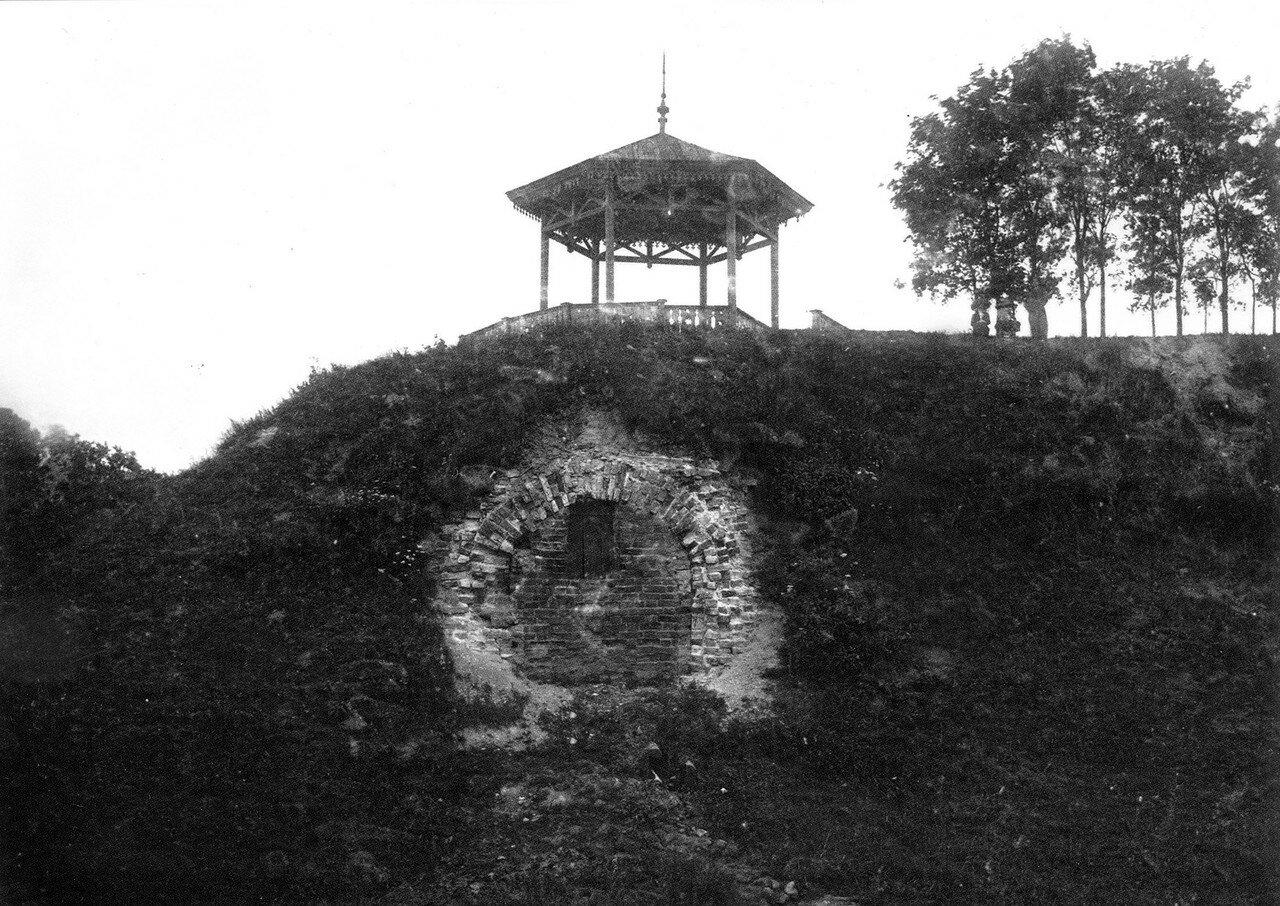 Беседка на Королевском бастионе. 1912