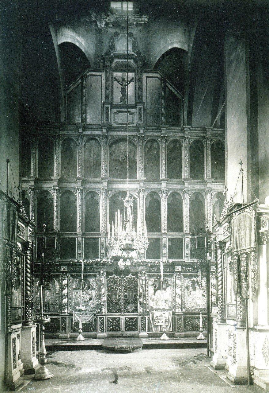 Иконостас церкви Иоанна Богослова. 1919