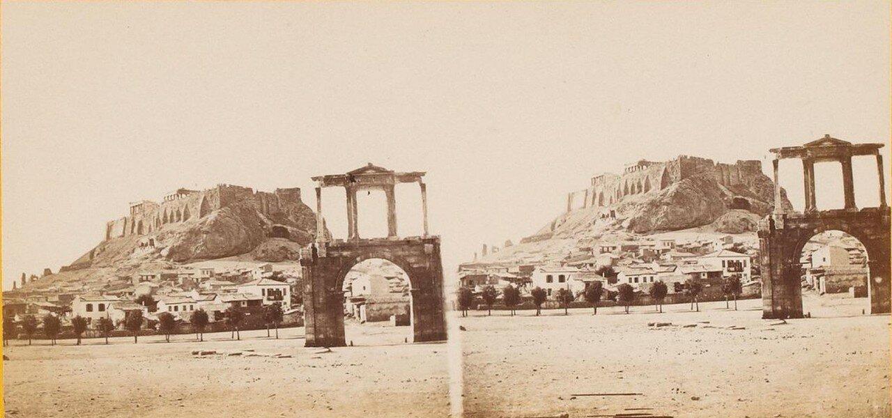 Акрополь и Арка Адриана