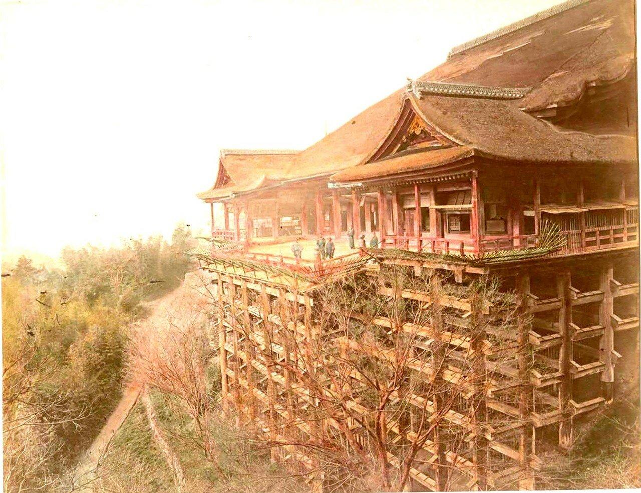 Киото. Храм Киёмидзудэра (Храм Чистой воды)