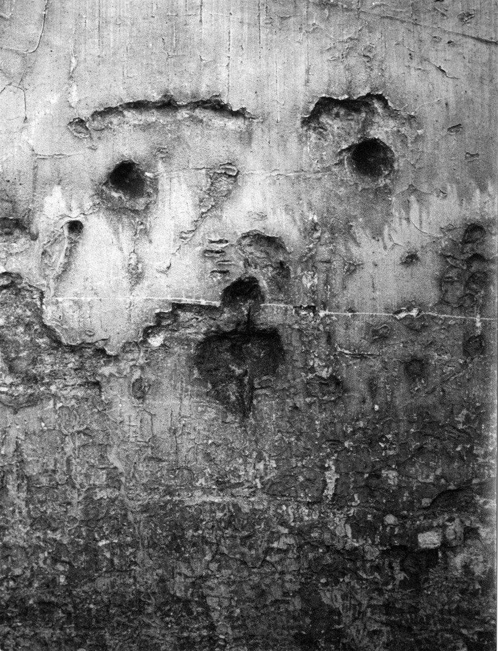 1935. Граффити. Серия IV Маски и лица