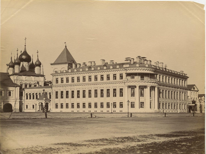 Кремль. Чудов монастырь и Малый Николаевский дворец