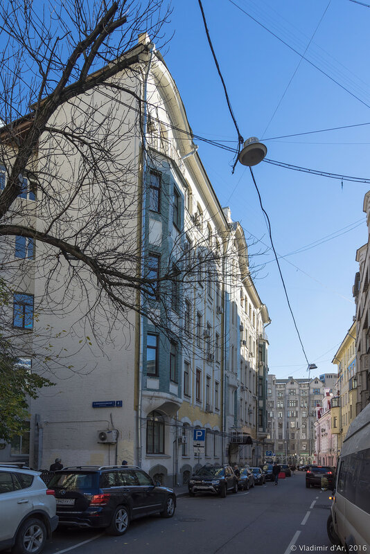 Большой Николопесковский переулок