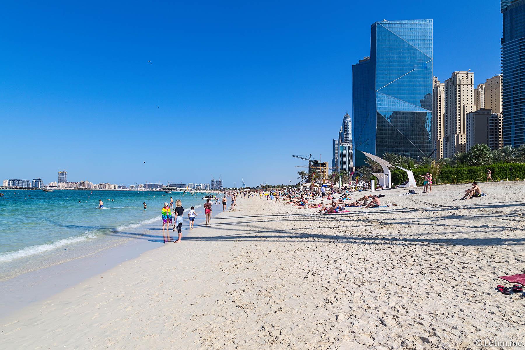 Где лучше остановиться в Дубае? Дубай Марина.