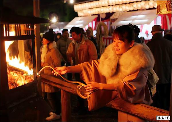 Япония встречает Новый год