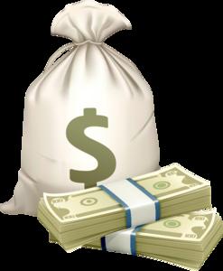 мешки с деньгами