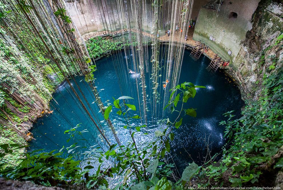 Мексика пещеры