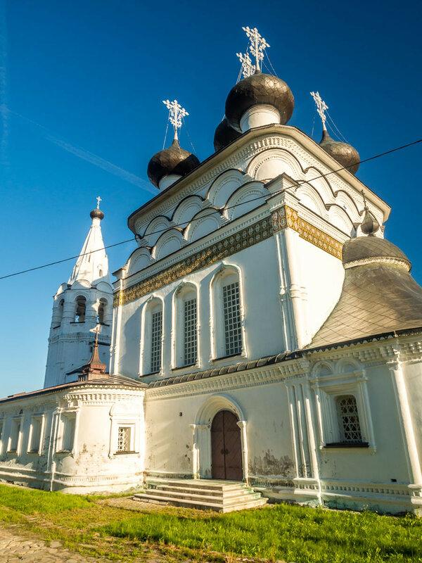 Церковь Всемилостливого Спаса, 1716-1723 гг.