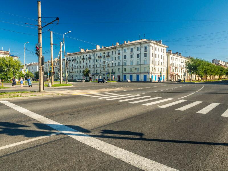В Череповце много долгих светофоров.