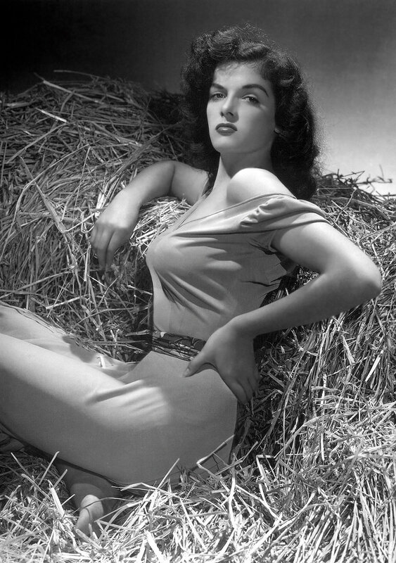 Jane Russell - by George Hurrell 1943.
