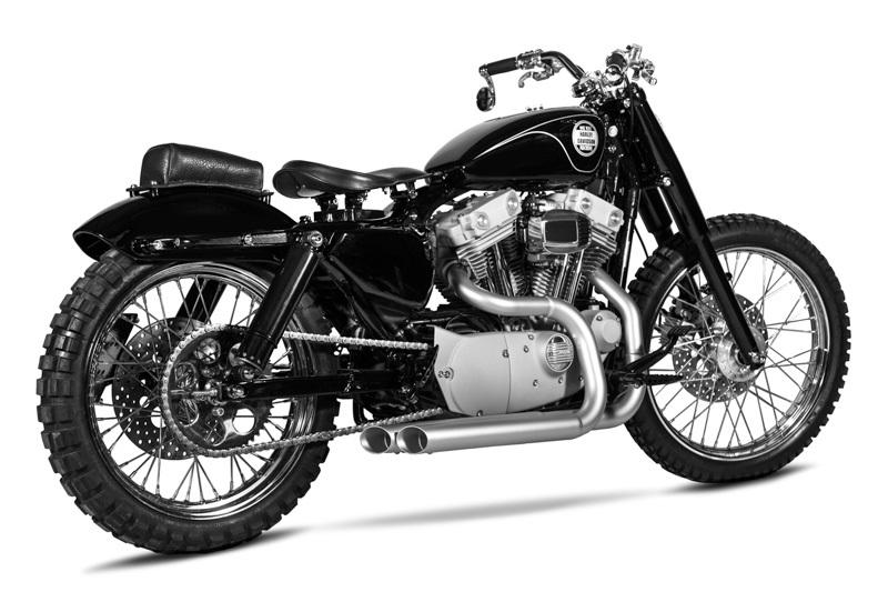 One Way Machine: кастом Harley-Davidson Sportster Urban Scrambler