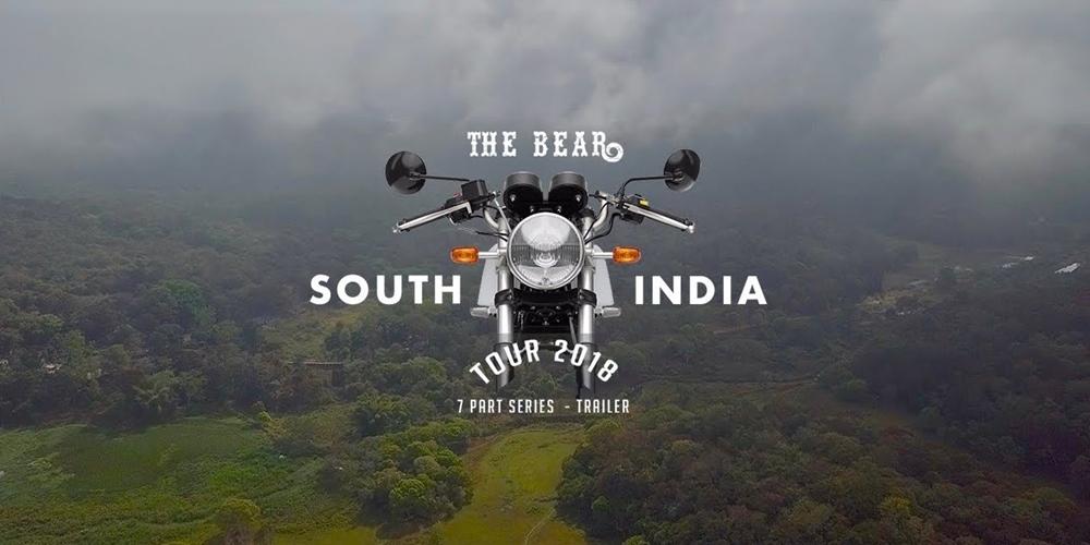 The Bear India Tour - мотопутешествие по Индии (видео)