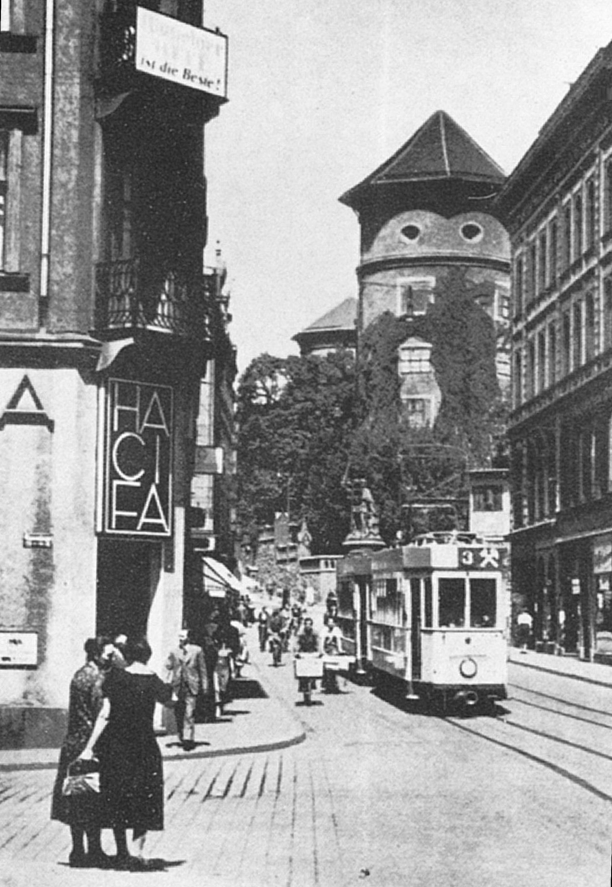 Кантштрассе. 1920-е