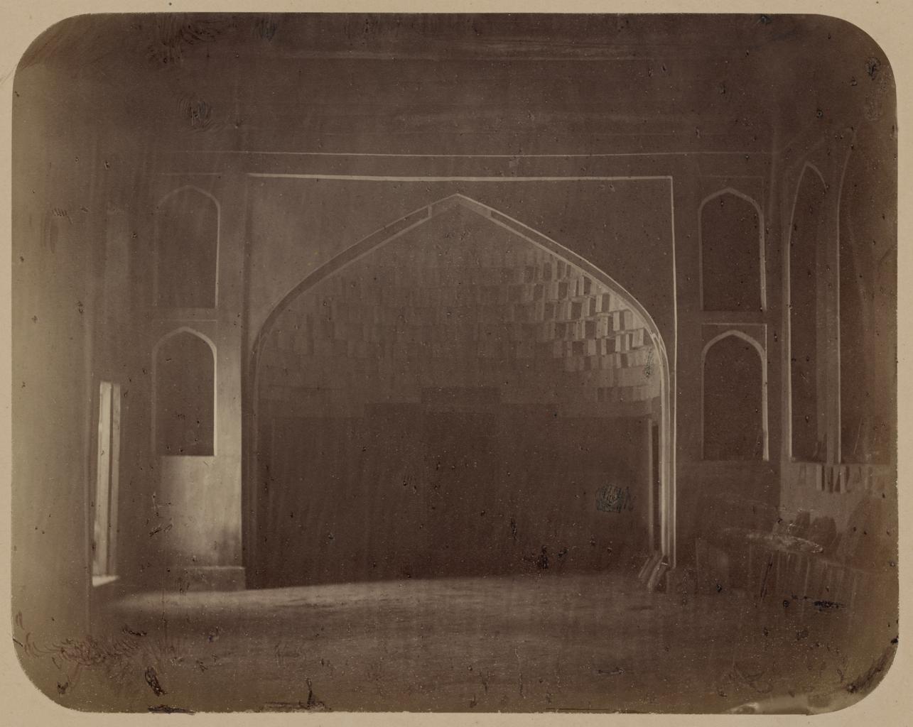 Дворец бухарских эмиров «Кок Таш». Арка в приемную залу